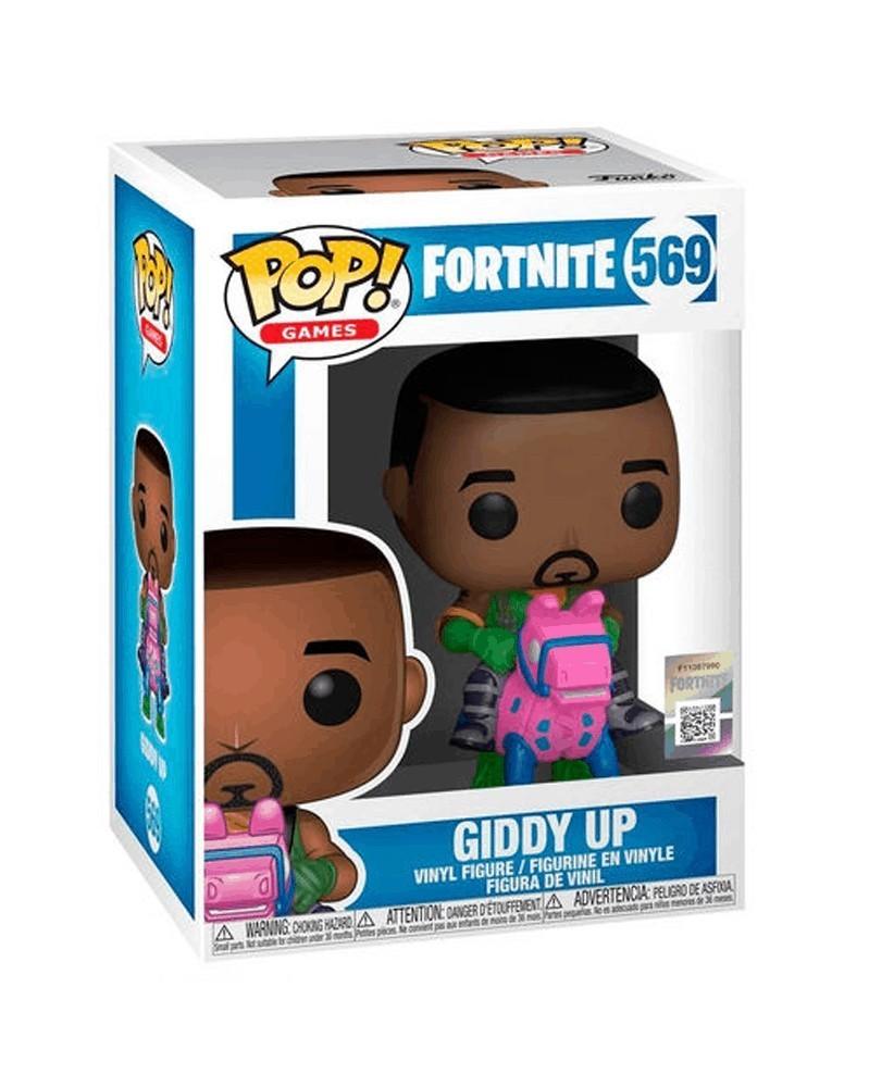 PREORDER Funko POP Games - Fortnite - Giddy Up, caixa