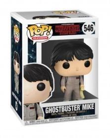 Funko POP TV- Stranger Things - Ghostbuster Mike
