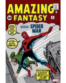 Funko POP Marvel - Spider-Man (1st Appearance), capa original de Amazing Fantasy 15