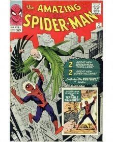 Funko POP Marvel - Vulture (1st Appearance), capa original de Amazing Spider-Man 2