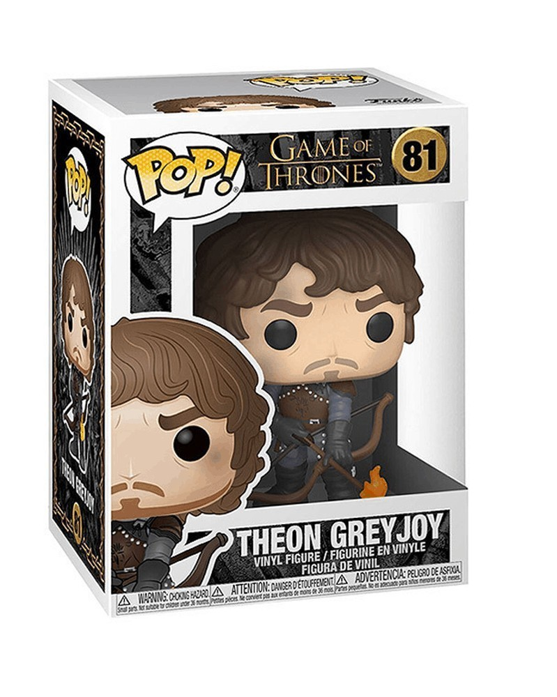 Funko POP Game of Thrones - Theon Greyjoy, caixa