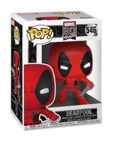 Funko POP Marvel - Deadpool (First Appearance), caixa