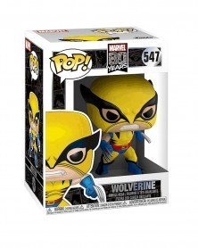 Funko POP Marvel - Wolverine (First Appearance), caixa