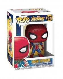 Funko POP Marvel - Infinity War - Iron Spider, caixa