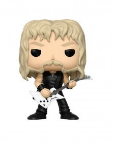 Funko POP Rocks - Metallica - James Hetfield