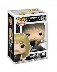 Funko POP Rocks - Metallica - James Hetfield, caixa