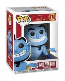 Funko POP Disney - Aladdin - Genie with Lamp, caixa