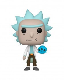 PREORDER! Funko POP - Rick and Morty - Rick with Crystal Skull