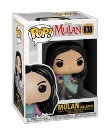 Funko POP Disney - Mulan (Live Action) - Mulan (Villager), caixa