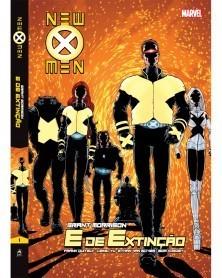 New X-Men Vol.1: E de Extinção, de Grant Morrison (Ed.Portuguesa, capa dura)