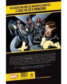 New X-Men Vol.1: E de Extinção, de Grant Morrison (Ed.Portuguesa), contra-capa