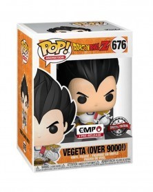 Funko POP Anime - Dragonball Z - Vegeta (Over 9000)