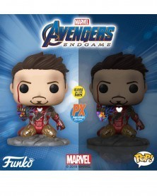 Funko POP Avengers: Endgame - I Am Iron Man, glow in the dark (Previews Exclusive)