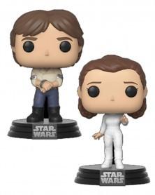 Funko POP Star Wars - Empire Strikes Back - Han Solo & Princess Leia