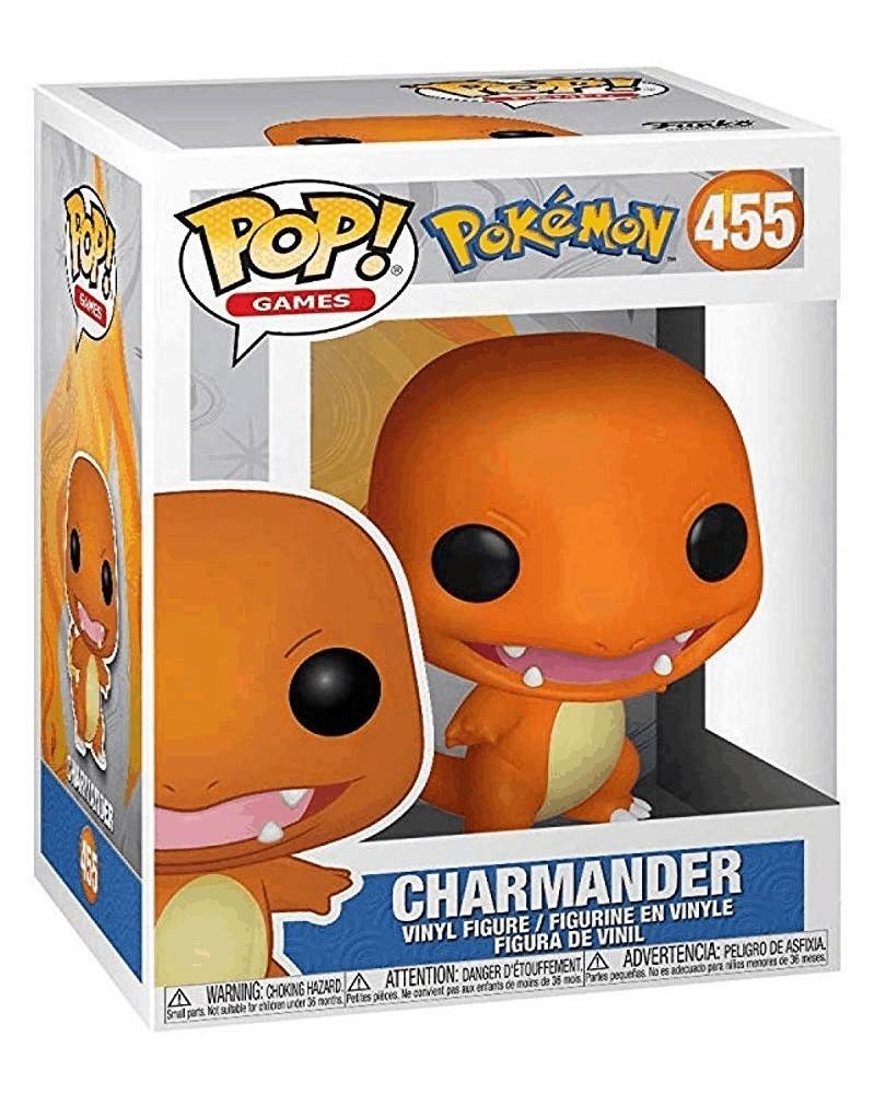 Funko POP Games - Pokémon - Charmander, caixa