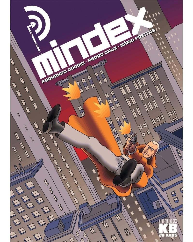 MINDEX, de Fernando Dordio, Pedro Cruz e Mário Freitas, capa