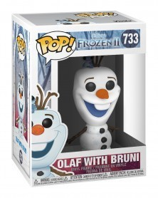 Funko POP Disney - Frozen 2 - Olaf with Bruni, caixa