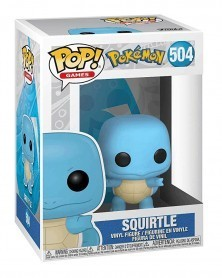 Funko POP Games - Pokémon - Squirtle, caixa
