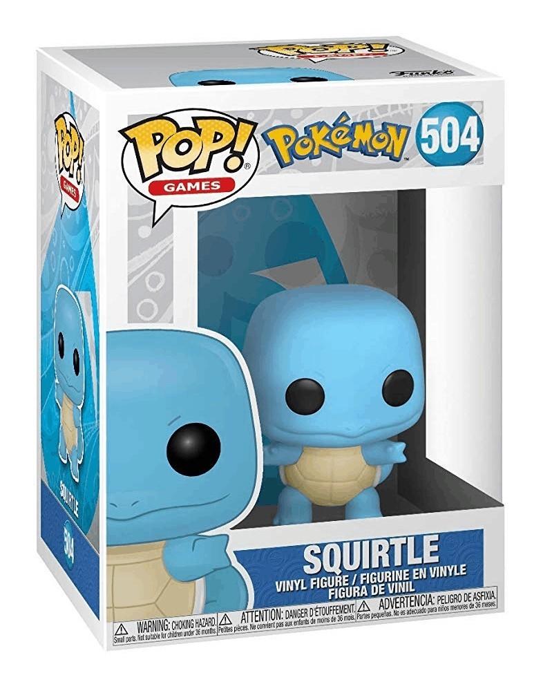 Funko POP Games - Pokémon - Squirtle, caixa