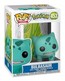 Funko POP Games - Pokémon - Bulbasaur, caixa