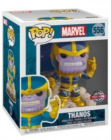Funko POP Marvel - Thanos (Snapping his Fingers), caixa