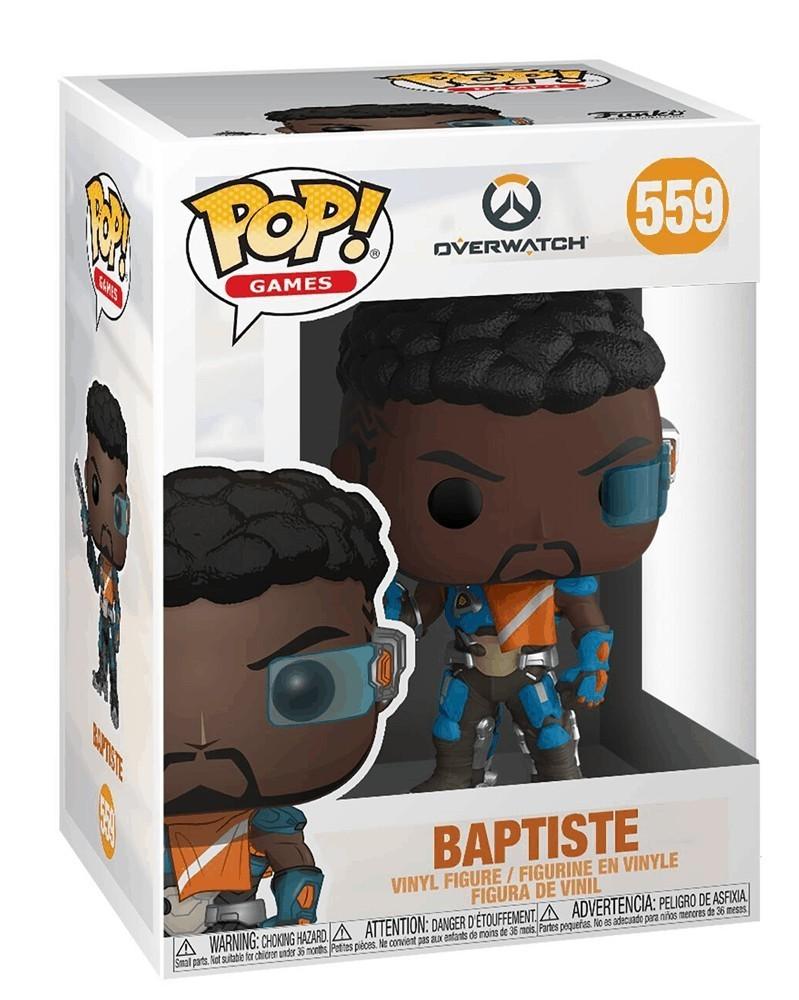 Funko POP Games - Overwatch - Baptiste, caixa