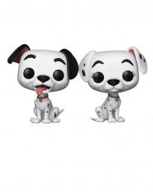 Funko POP Disney - 101 Dalmatians - Pongo & Perdita (2-Pack)