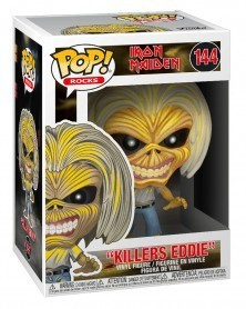 Funko POP Rocks - Iron Maiden - Killers (Skeleton Eddie), caixa