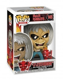 Funko POP Rocks - Iron Maiden - Number of The Beast (Eddie), caixa