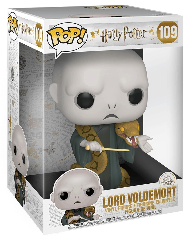 PREORDER! Funko POP Harry Potter - Lord Voldemort (25cm), caixa