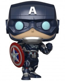 PREORDER! POP Marvel - Avengers Game - Captain America (Stark Tech Suit)