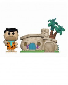 PREORDER! Funko POP Town - Fred with Flintstone's Home