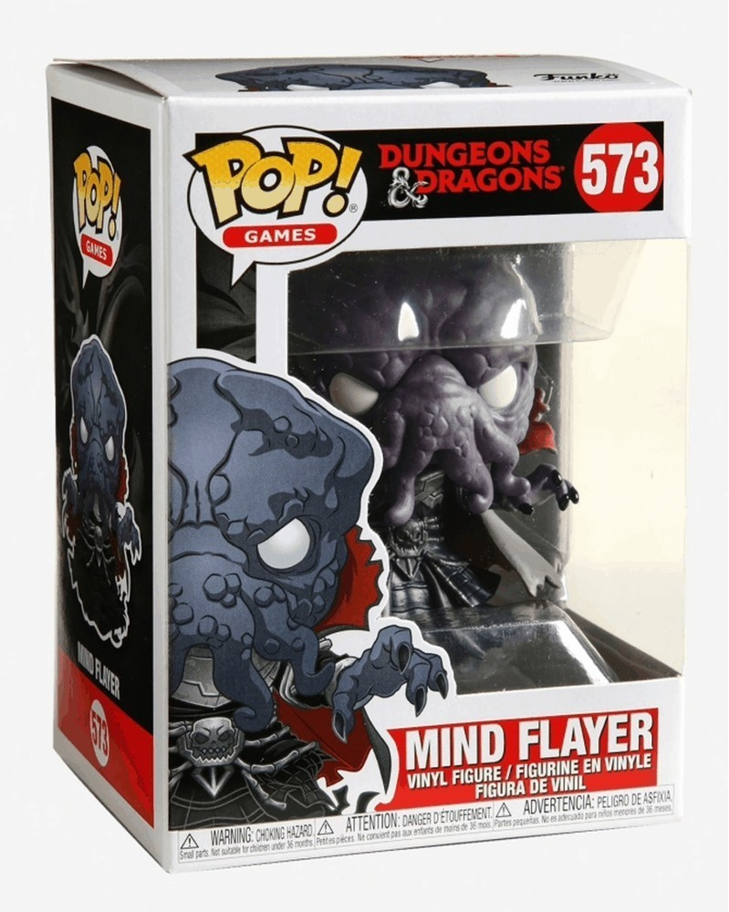 Funko POP Games - Dungeons & Dragons - Mind Flayer, caixa