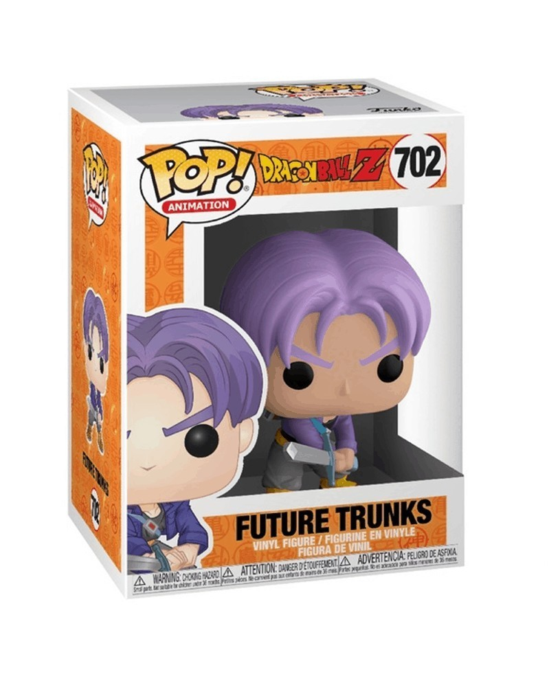 Funko POP Anime - Dragonball Z - Future Trunks (with Sword), caixa