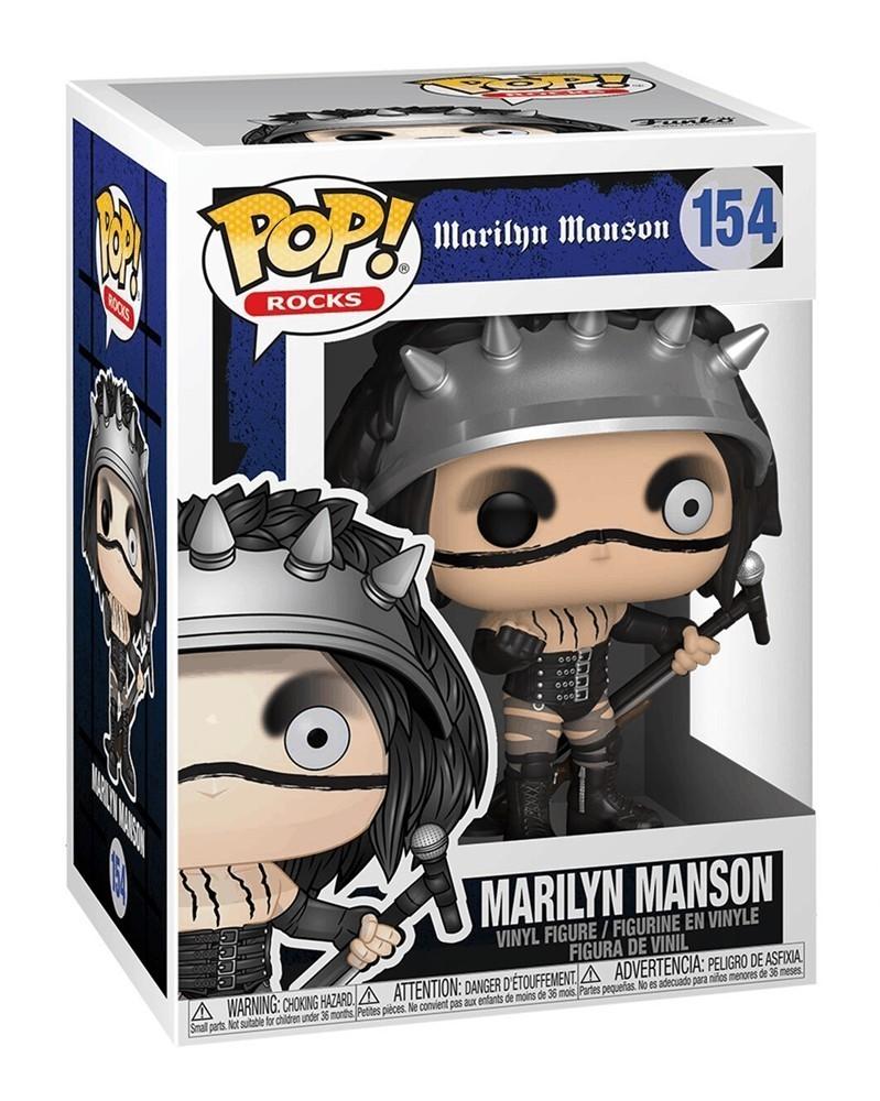 Funko POP Rocks - Marilyn Manson, caixa