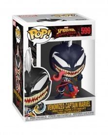 Funko POP Marvel - Maximum Venom - Venomized Captain Marvel, caixa