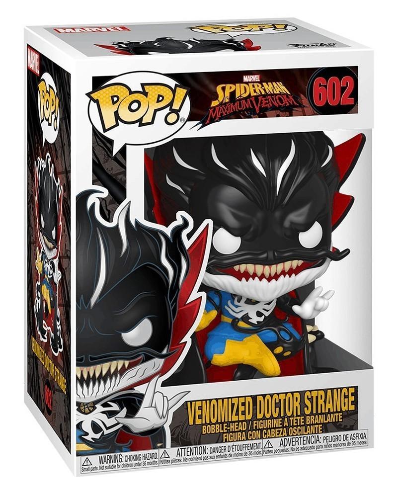 Funko POP Marvel - Maximum Venom - Venomized Doctor Strange, caixa