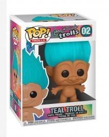 Funko POP Animation - Good Luck Trolls - Teal Troll, caixa