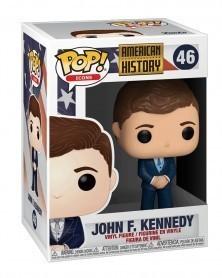 Funko POP Icons - American History - John F. Kennedy, caixa
