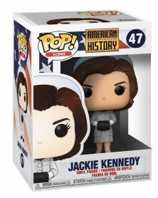 Funko POP Icons - American History - Jackie Kennedy, caixa