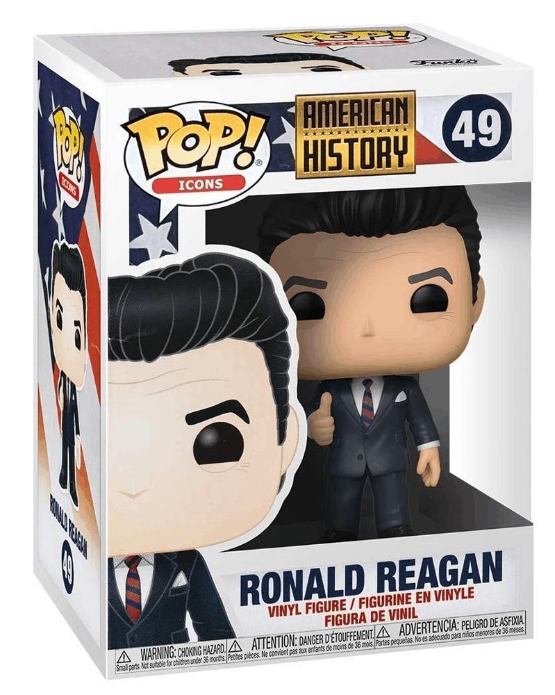 Funko POP Icons - American History - Ronald Reagan, caixa
