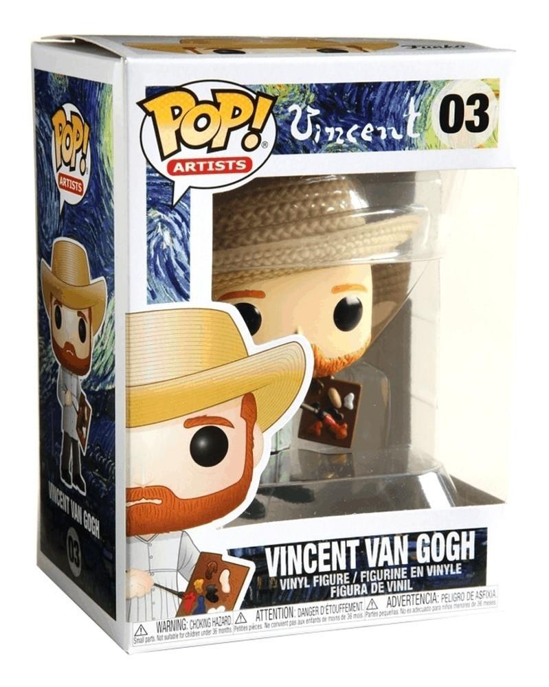 Funko POP Artists - Vincent Van Gogh, caixa