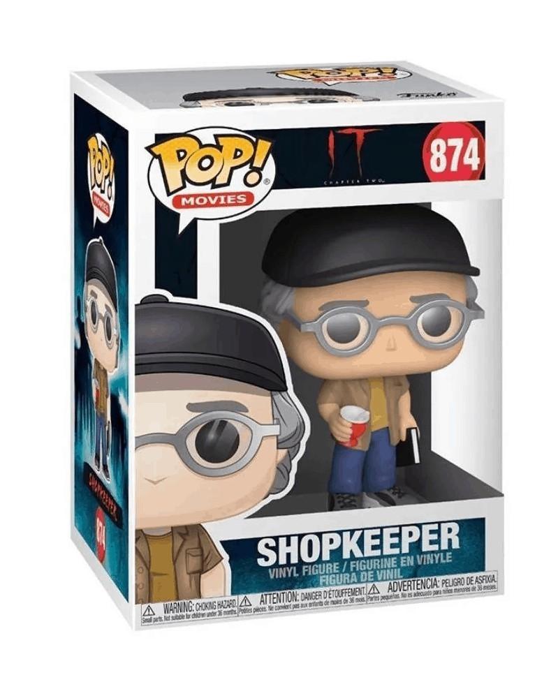 Funko POP Movies - IT 2 - Shopkeeper (Stephen King), caixa
