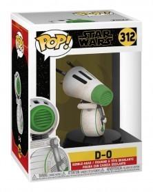 Funko POP Star Wars Ep.9 - Rise of Skywalker - D-0, caixa
