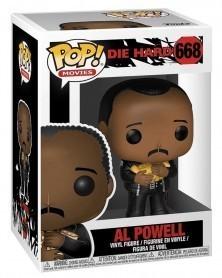 Funko POP Movies - Die Hard - Al Powell, caixa
