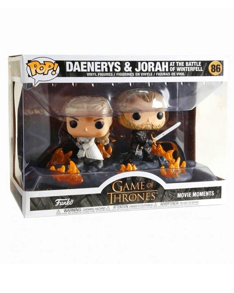 Funko POP TV - Game of Thrones - Daenerys & Jorah, caixa