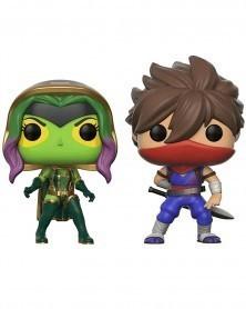 POP Games - Marvel Gamerverse vs Capcom -  Gamora vs Strider