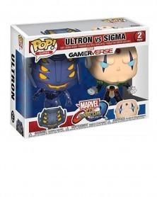 POP Games - Marvel Gamerverse vs Capcom -  Ultron vs Sigma, caixa