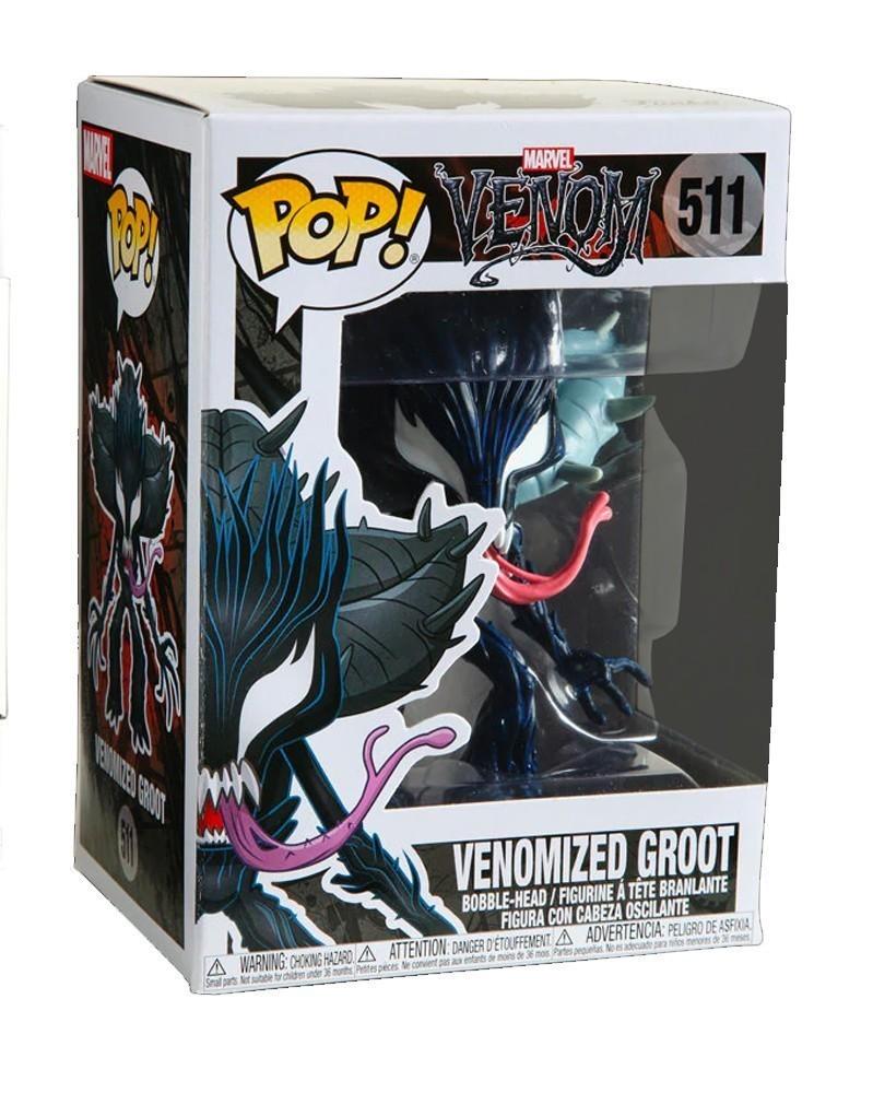 Funko POP Marvel - Venom - Venomized Groot, caixa