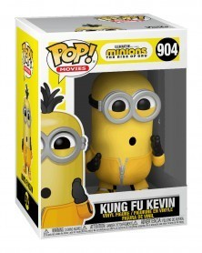 PREORDER! Funko POP Movies - Minions: The Rise of Gru - Kung Fu Kevin, caixa